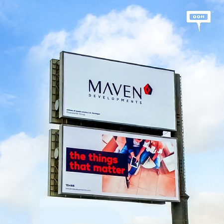 """Maven Developments focuses on """"The things that matter"""" on an OOH campaign"""