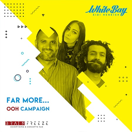 "Brain Freeze proves ""Far more creativity"" with their OOH success for White Bay"