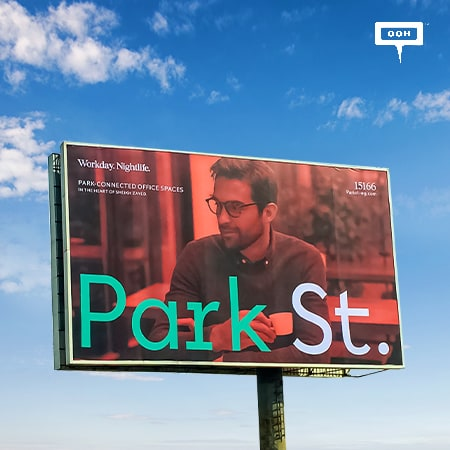 """Park St. introduces """"Workday. Night life"""" to the billboards of Cairo"""