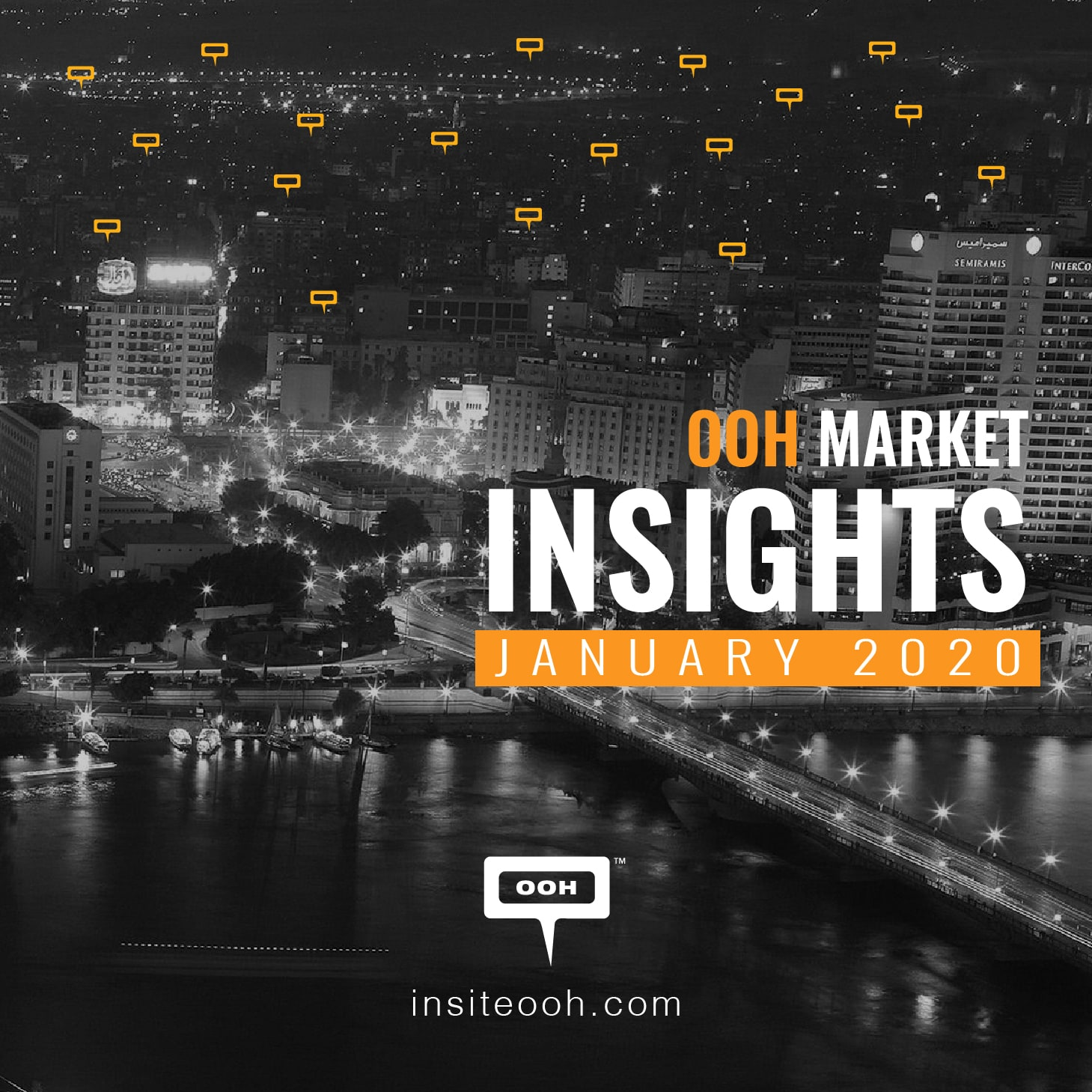 The OOH market rides the roller coaster with  4% market occupancy decrease in January
