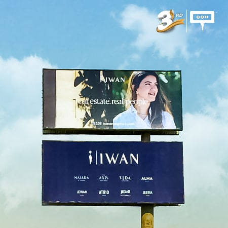 Iwan Developments uses relationship marketing on an OOH branding campaign