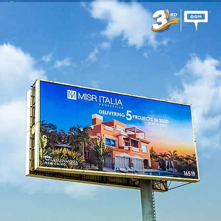 Misr Italia delivers 5 projects in 2020 on Cairo's billboards