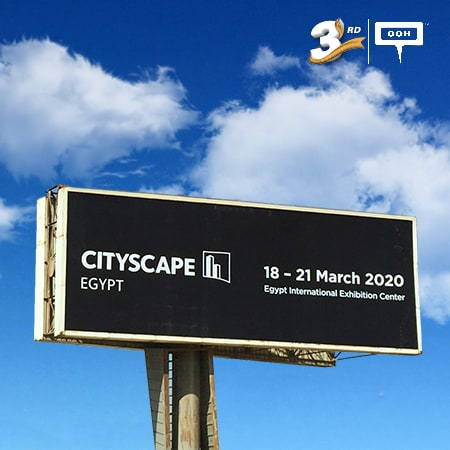 Cityscape went big on Cairo's billboards to be postponed for COVID-19