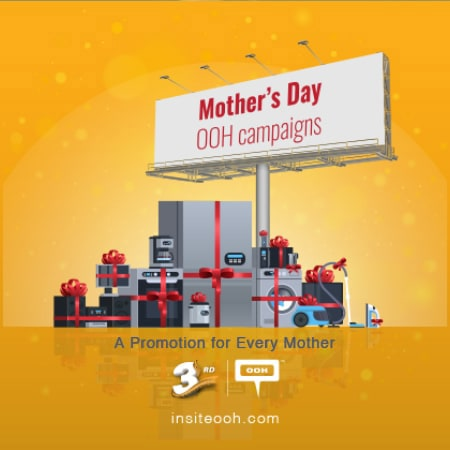Advertisers show love on the billboards of Cairo for Mother's Day
