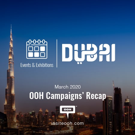 Dubai, the city of gold hosts mega events & exhibitions  during March 2020