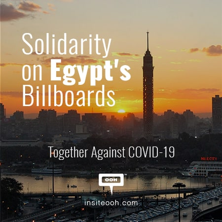 CSR takes place on the billboards of Greater Cairo to raise awareness against COVID-19