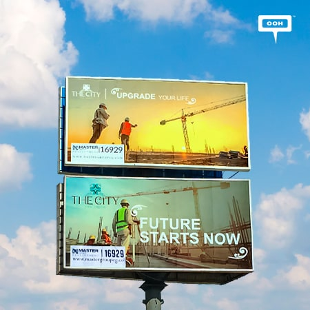 Master Group brings back The City New Capital on an OOH campaign