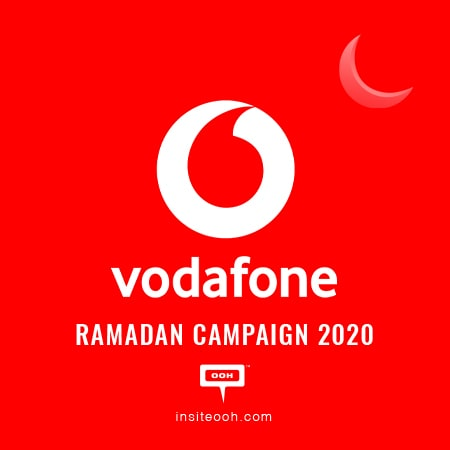 "Vodafone celebrates ""Companionship of Millions"" on Cairo's billboards for Ramadan"