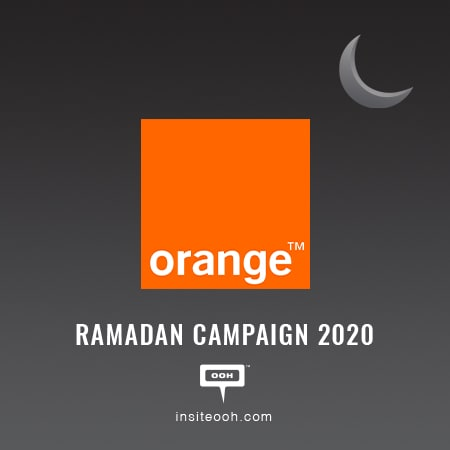 Orange celebrates Ramadan on Cairo's billboards by getting people closer