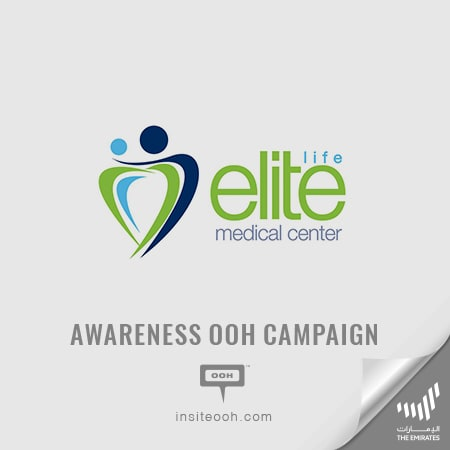 Elite Medical Centre shows up on Dubai roads with a large OOH media plan