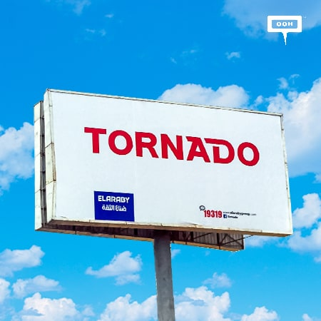 El Araby hits with an out-of-home branding campaign for Tornado