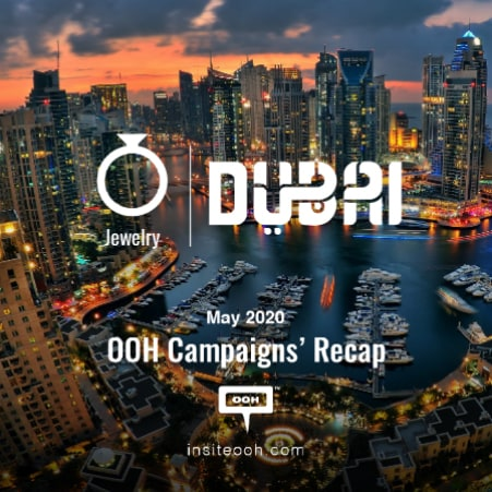 The billboards of Dubai introduce the Jewelry brands of May 2020