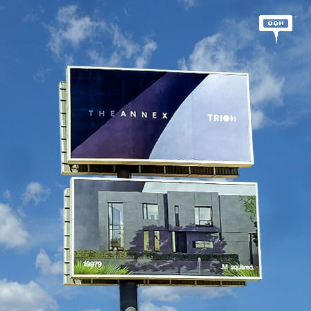 M squared surprises Cairo's billboards again to bring back Trio to the OOH scene