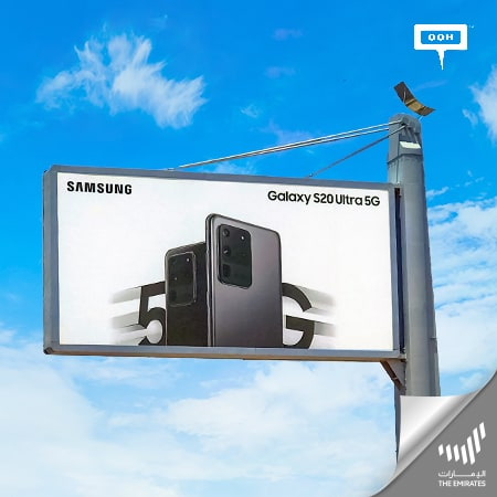 Samsung stirs the people up with its OOH campaign for Galaxy S20 series in Dubai