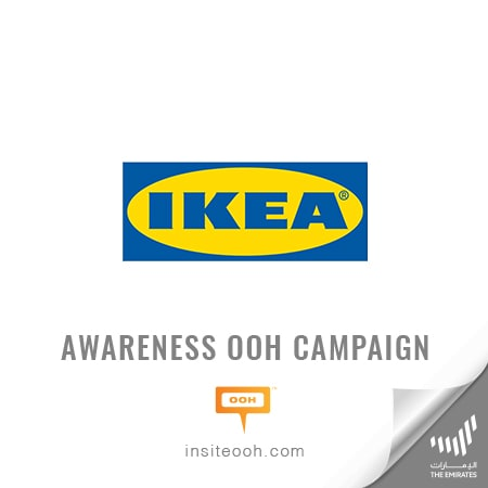 "IKEA's 3,000 items ""Part Sale"" visits the roads of Dubai on an OOH promotional campaign"