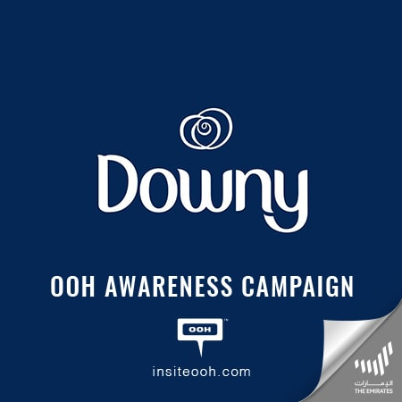 Downy visits Dubai's billboards to offer a gentle solution for your skin
