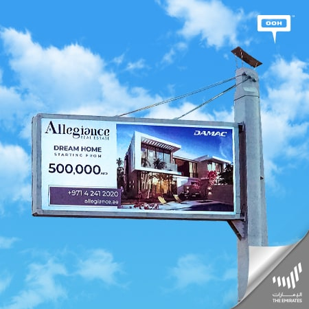 "Allegiance Real Estate brings your ""Dream home"" from DAMAC on Dubai's roads"