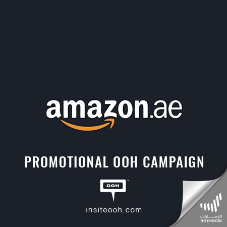 Amazon.ae announces Prime Members offers on a digital out-of-home advertisement