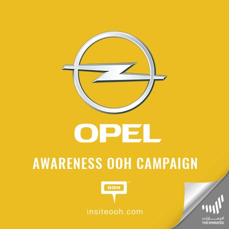 """Opel invites you to """"Meet the new Germans in town"""" on Dubai's billboards"""
