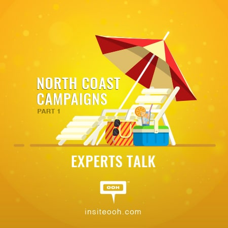 The North Coast pumps with impressive OOH campaigns as the summer begins