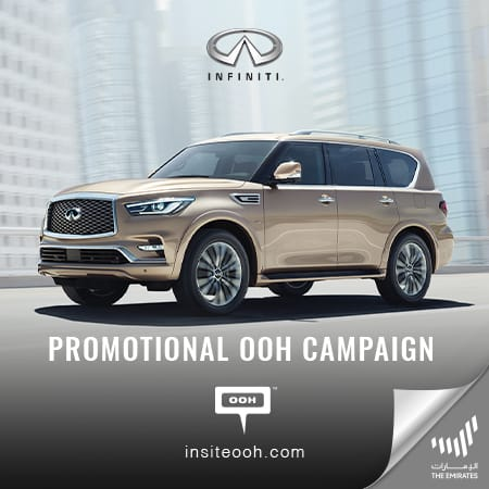 AW Rostamani presents promising payment plans for INFINITI on Dubai's billboards