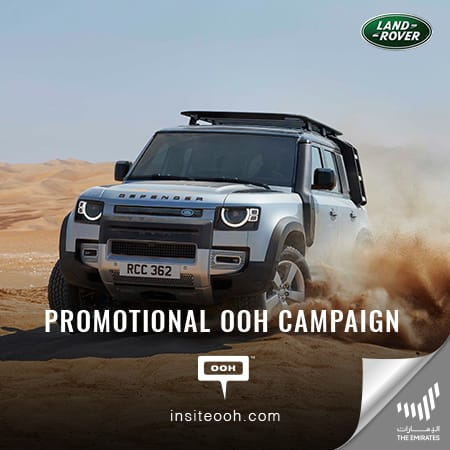Al Tayer Motors releases OOH promotional campaign for Range Rover & Range Rover Sport
