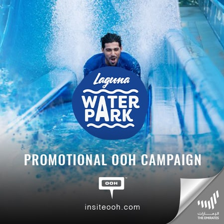 "Dubai's Laguna Waterpark pops up with a DOOH campaign for an ""All inclusive experience"""