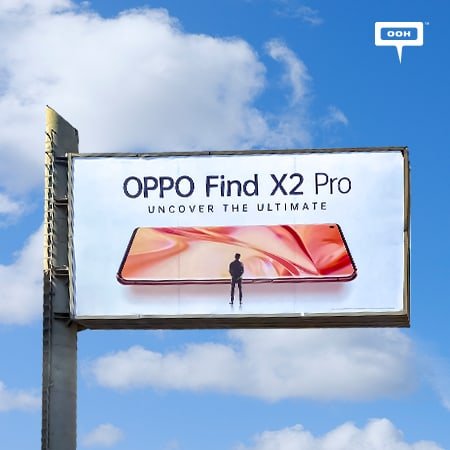 "OPPO releases Find X2 Pro on Cairo's billboards to ""Uncover the ultimate"""