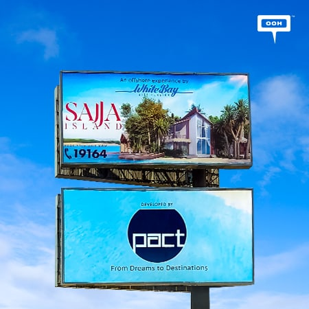 "White Bay delivers the ""Offshore experience"" on Egypt's billboards"