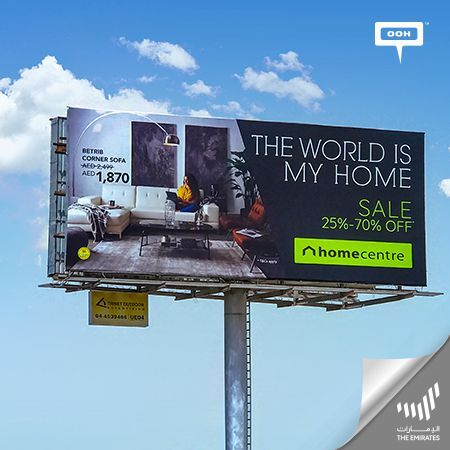 Home Centre  releases a huge OOH promotional campaign in the UAE