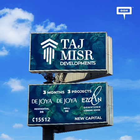 Taj Misr is flexing its muscles on Cairo's billboards with a broad OOH campaign