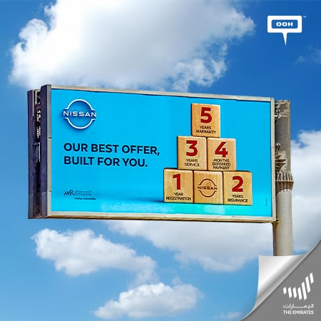 """Nissan delivers its """"Best offer"""" for the Emiratis on an outdoor campaign"""
