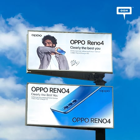 OPPO features Mohamed Salah to rule Cairo's billboards with Reno4