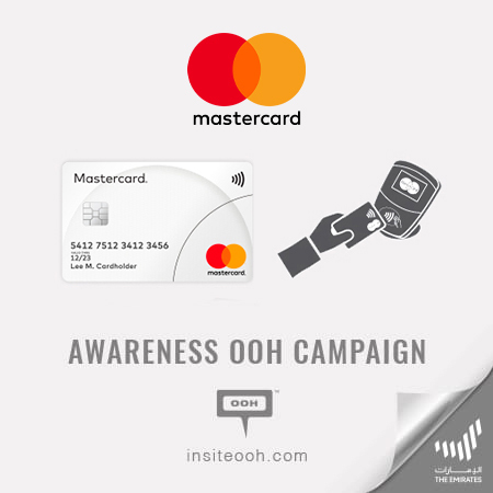 "Mastercard rises on Dubai's billboards to bring its safe ""Tap & Go"" contactless payment"