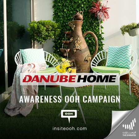 "Danube Home rises up UAE's billboards to announce its ""My Garden"" 2021 catalogue"