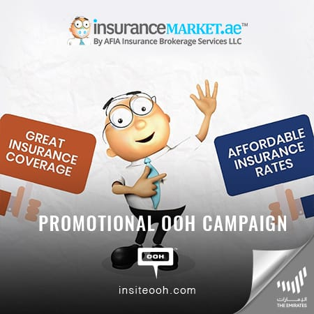 """InsuranceMarket.ae arrives at Dubai's billboards with the """"Biggest discounts ever"""""""