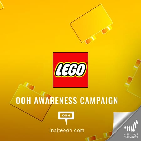 LEGO Super Mario appears on Dubai's billboards to spread nostalgia with an OOH campaign