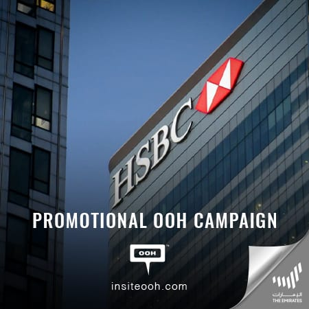 "HSBC brings back its ""5000 cashback"" on Dubai's billboards plus ""Fee-free"" transfers"