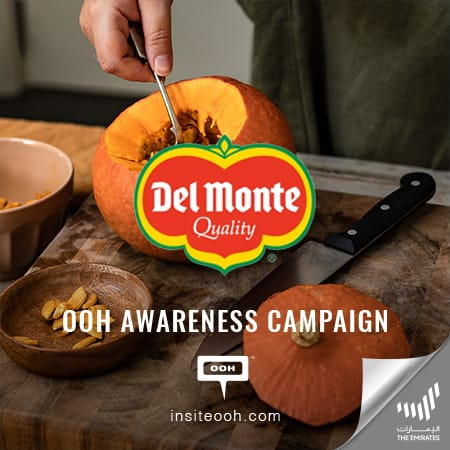 """Del Monte brings up its online store on Dubai's billboards to """"Enjoy healthy food"""""""