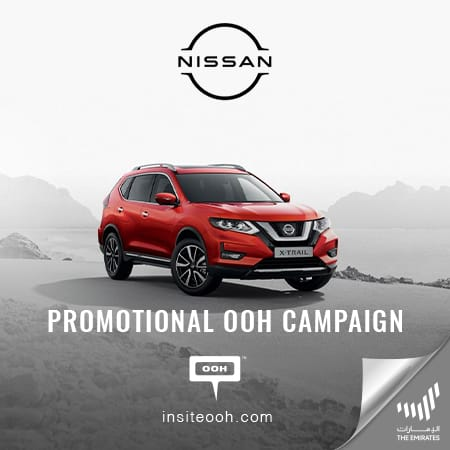 Nissan fires Dubai's streets with an OOH campaign for the 2020  X-Trail & Kicks