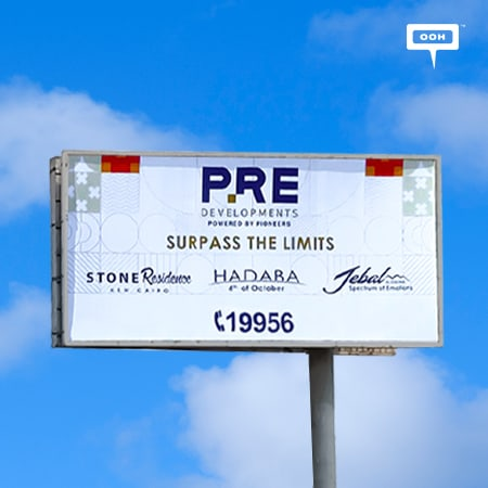 PRE Developments brand its leading projects with an OOH branding campaign