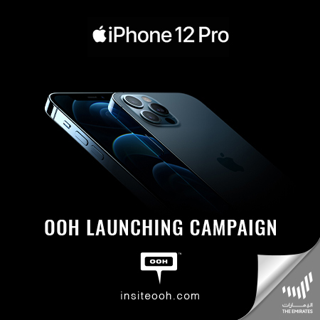 iPhone welcomes the iPhone 12 Pro & 5G generation on the billboards of Dubai