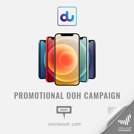 Du hits Dubai's streets with a digital OOH campaign to introduce the new iPhone