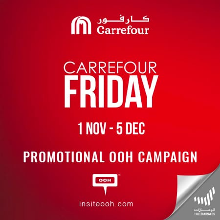 Carrefour Friday hits Dubai's roads with a month of special offers & promotions