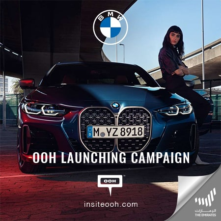 "The breathtaking ""BMW The 4"" lands on Dubai's billboards"