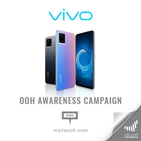 vivo launches the new V20 Series on the billboards of Dubai