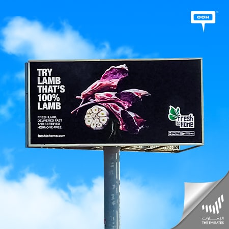 FreshToHome.com makes a firm presence on UAE's billboards