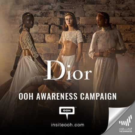 Dior releases a glimpse of its 2021 collections on the billboards of Dubai