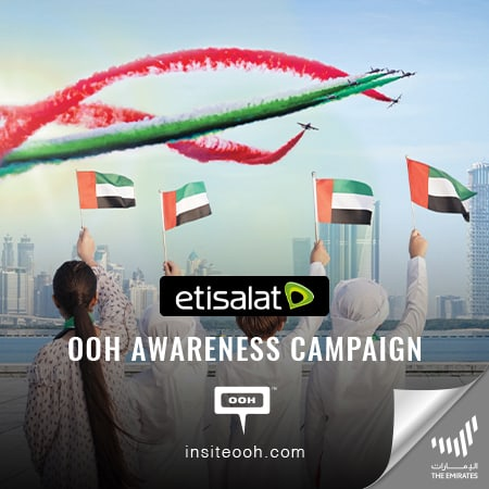 "Etisalat proves ""Nothing is impposible"" for The Emirati people on an OOH campaign"