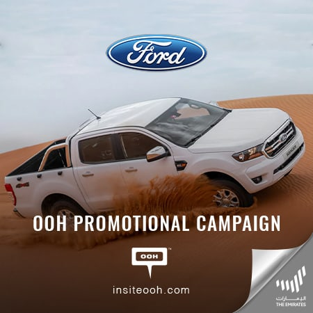 Al Tayer Motors brings back the Ford Ranger on Dubai's billboards